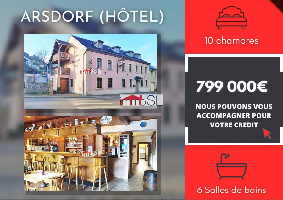 acheter local commercial 10 chambres 350 m² arsdorf photo 1