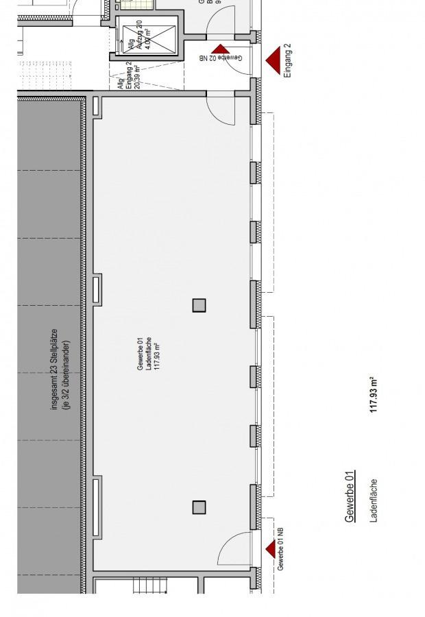 ladenfläche kaufen 3 zimmer 117.98 m² trier foto 2