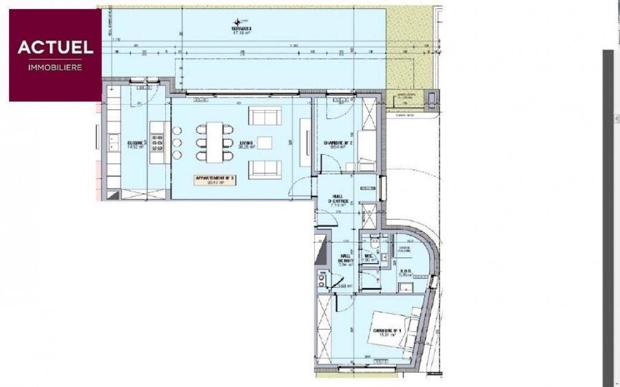 acheter appartement 2 chambres 90.47 m² alzingen photo 3