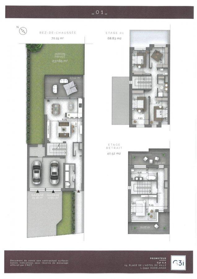 doppelhaushälfte kaufen 5 schlafzimmer 180 m² kayl foto 4