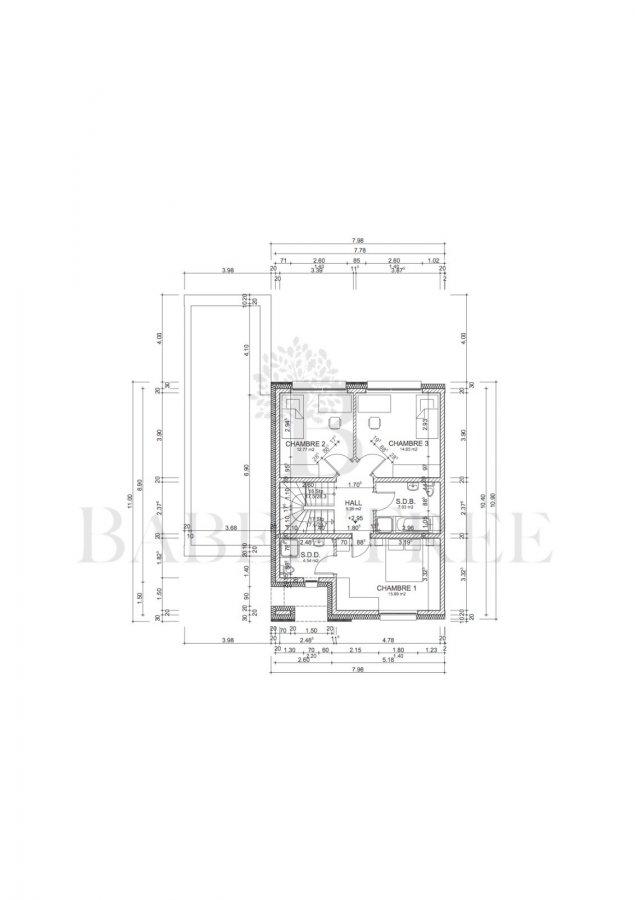 acheter maison jumelée 4 chambres 180 m² berdorf photo 4