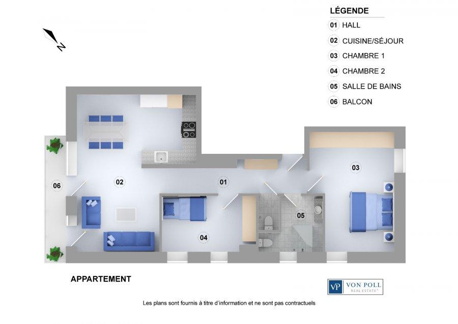 Elegant Wohnung Kaufen 2 Schlafzimmer 75 M² Dudelange Foto 4