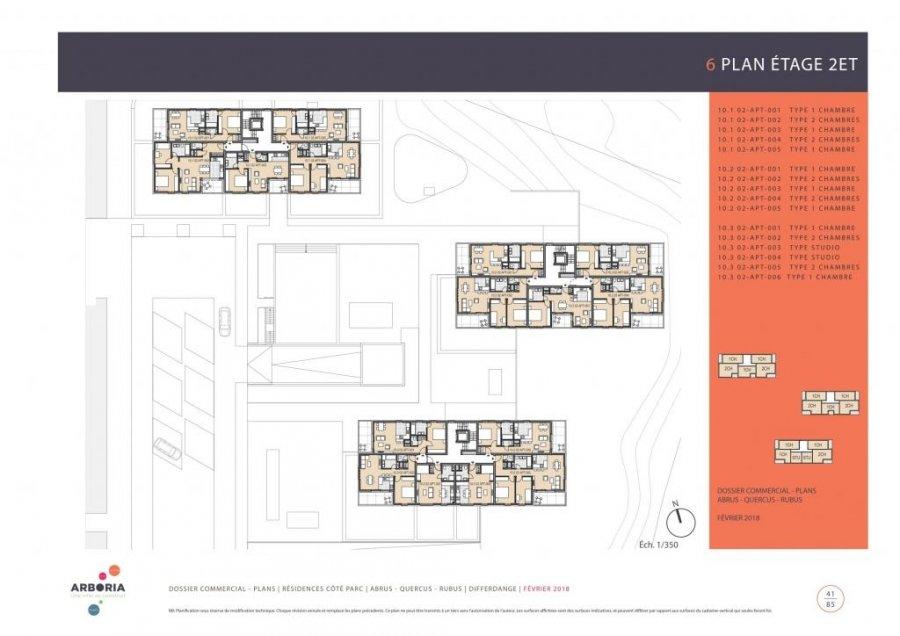 acheter appartement 2 chambres 84.26 m² differdange photo 4