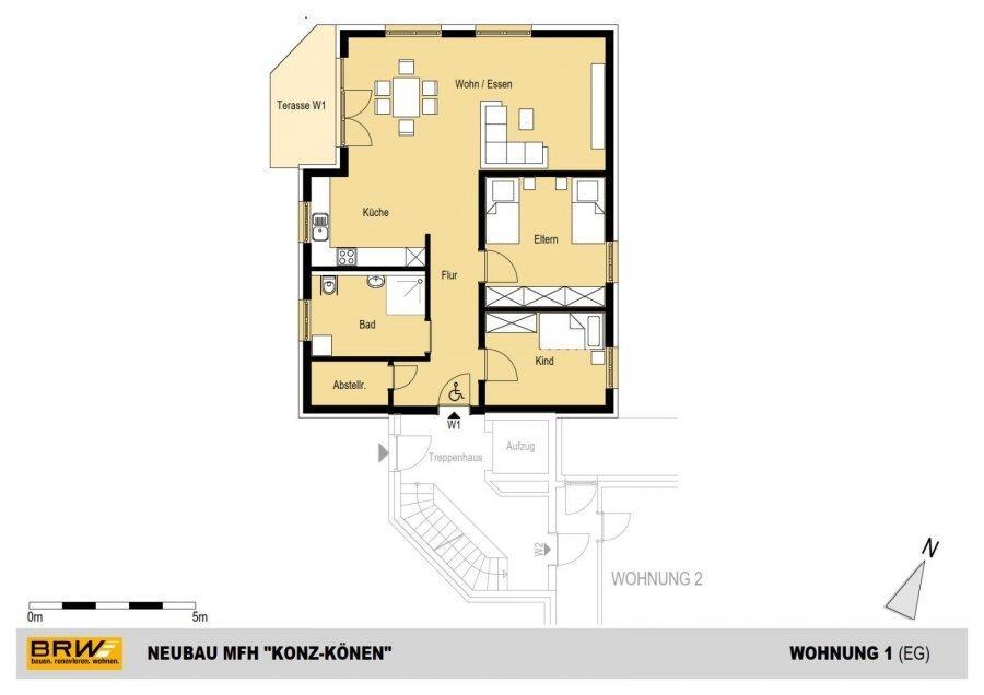 acheter résidence 0 pièce 119.19 à 128.61 m² konz photo 6