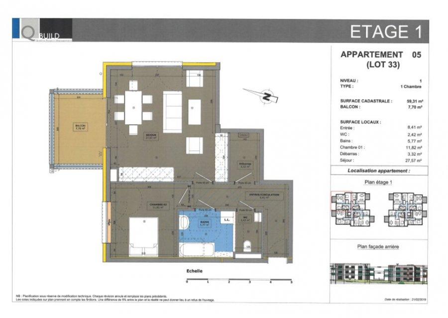 acheter appartement 3 pièces 59.31 m² cosnes-et-romain photo 1