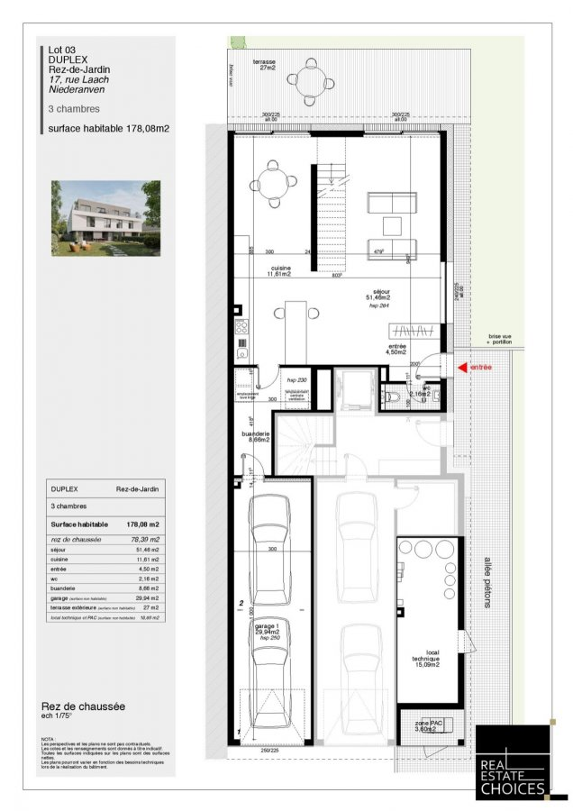 duplex for buy 3 bedrooms 178 m² niederanven photo 6