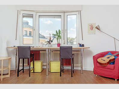 Appartement à vendre 1 Chambre à Luxembourg-Belair - Réf. 5981443