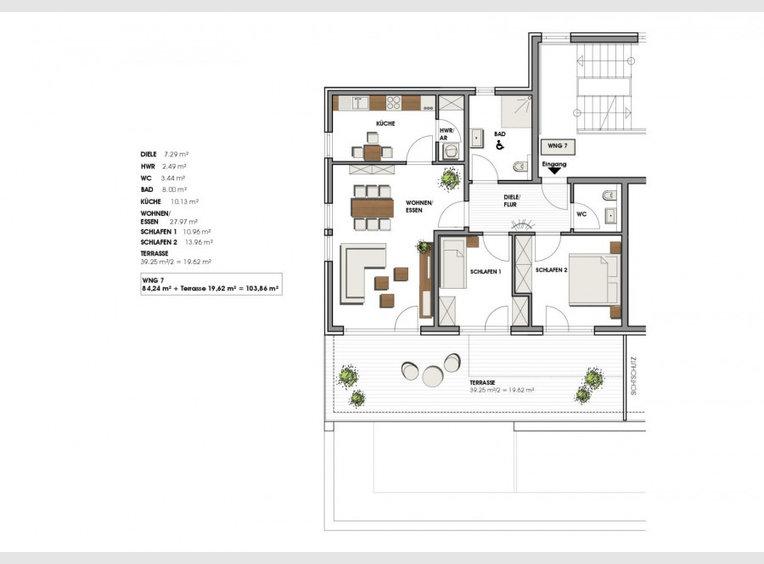 Wohnung zum Kauf 3 Zimmer in Perl (DE) - Ref. 4605443