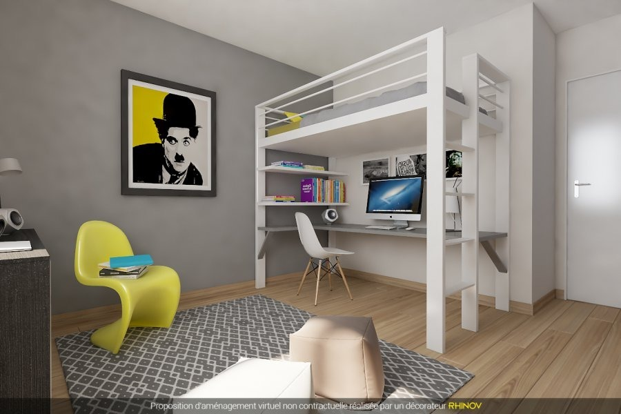 acheter appartement 3 pièces 66.89 m² metz photo 3