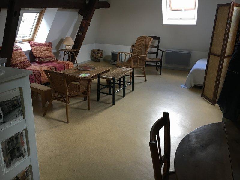 Appartement à louer F1 à La chartre sur le loir
