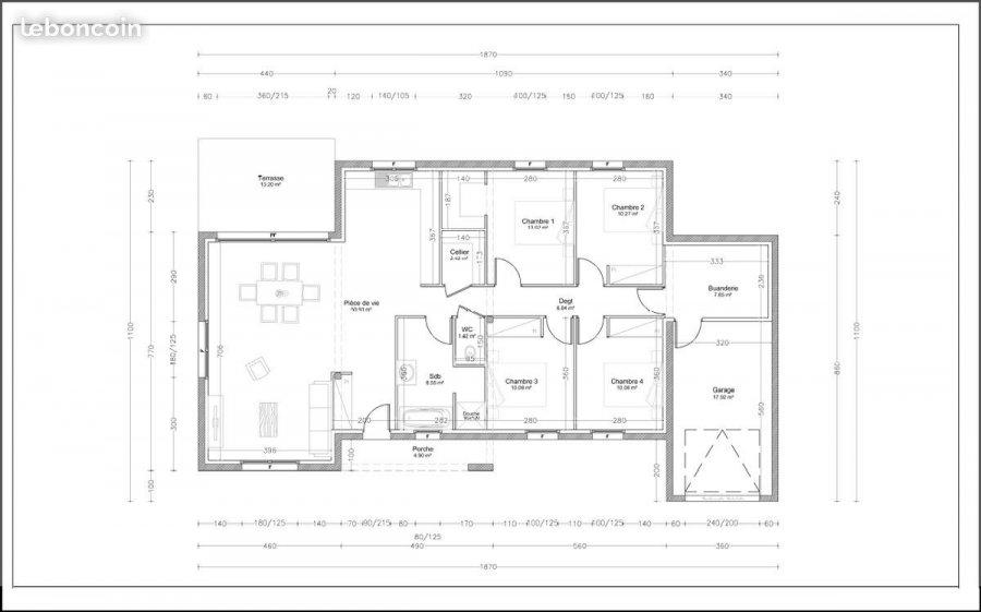 acheter maison individuelle 5 pièces 115 m² charmes photo 2