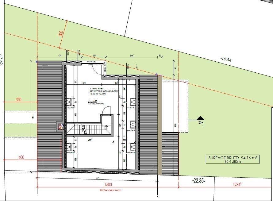 semi-detached house for buy 3 bedrooms 213.25 m² filsdorf photo 7