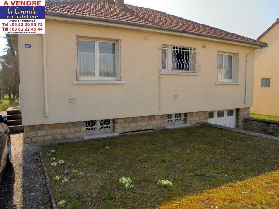 Maison individuelle à vendre F4 à CONFLANS