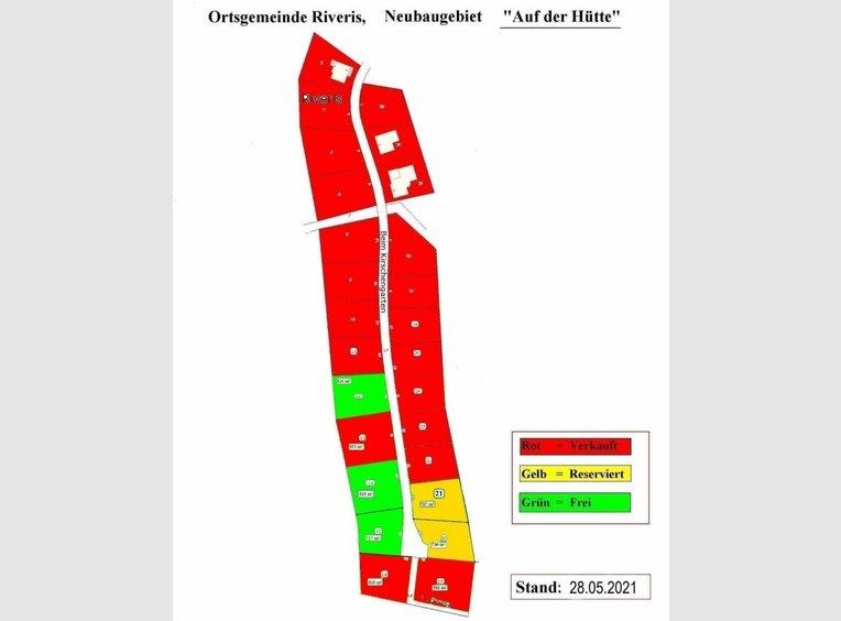 Bauland zum Kauf in Riveris (DE) - Ref. 7249939