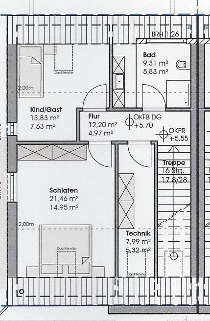 wohnung kaufen 3 zimmer 97.32 m² perl foto 3