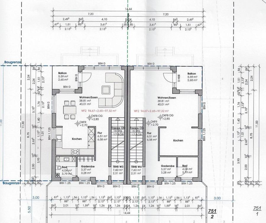 wohnung kaufen 3 zimmer 97.32 m² perl foto 4