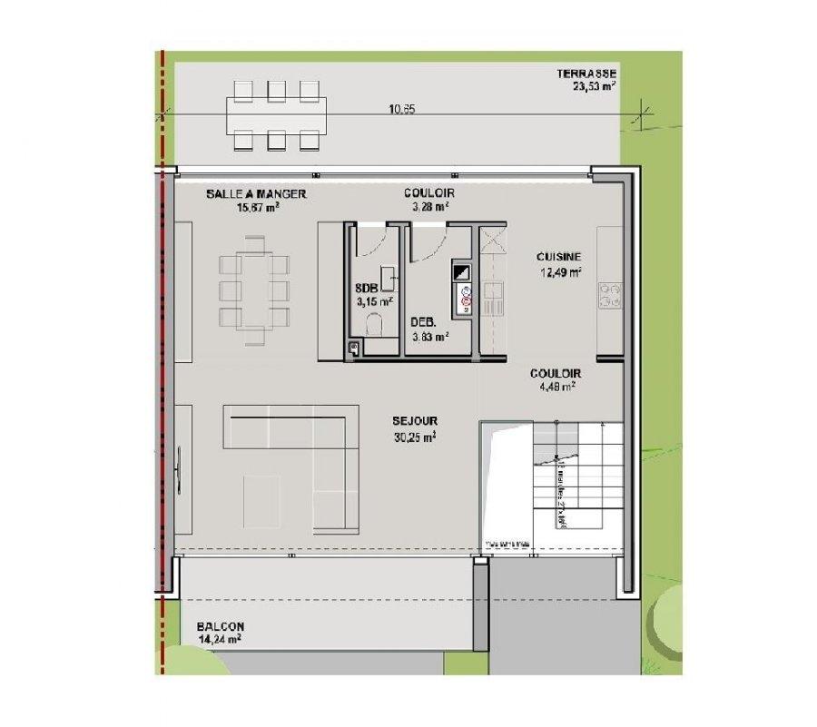 Maison jumelée à vendre 4 chambres à Senningerberg