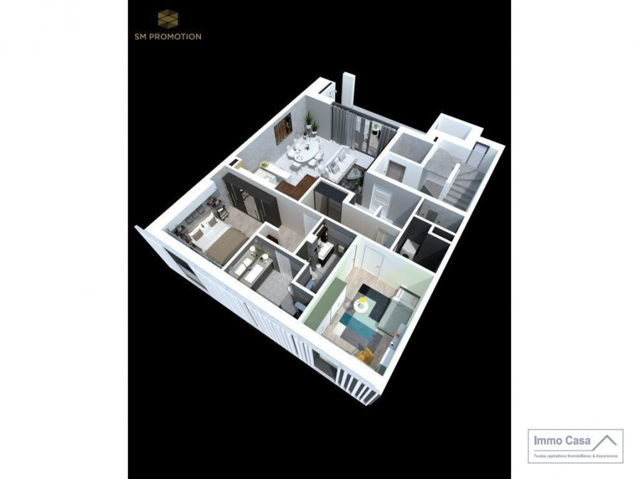 acheter appartement 2 chambres 92.3 m² luxembourg photo 3
