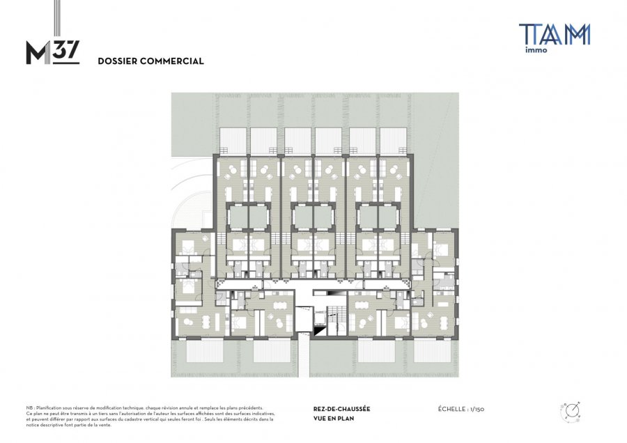 acheter appartement 1 chambre 49.7 m² luxembourg photo 3