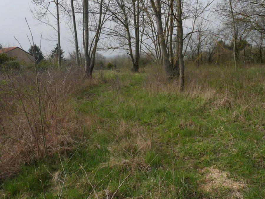 Terrain constructible à vendre à Baudrecourt