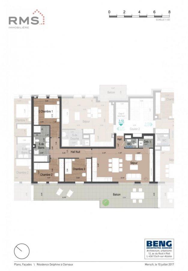 acheter appartement 3 chambres 99.38 m² clervaux photo 6