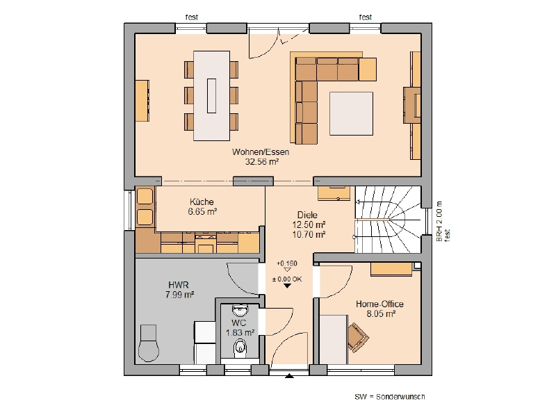 acheter maison 5 pièces 122 m² morbach photo 3