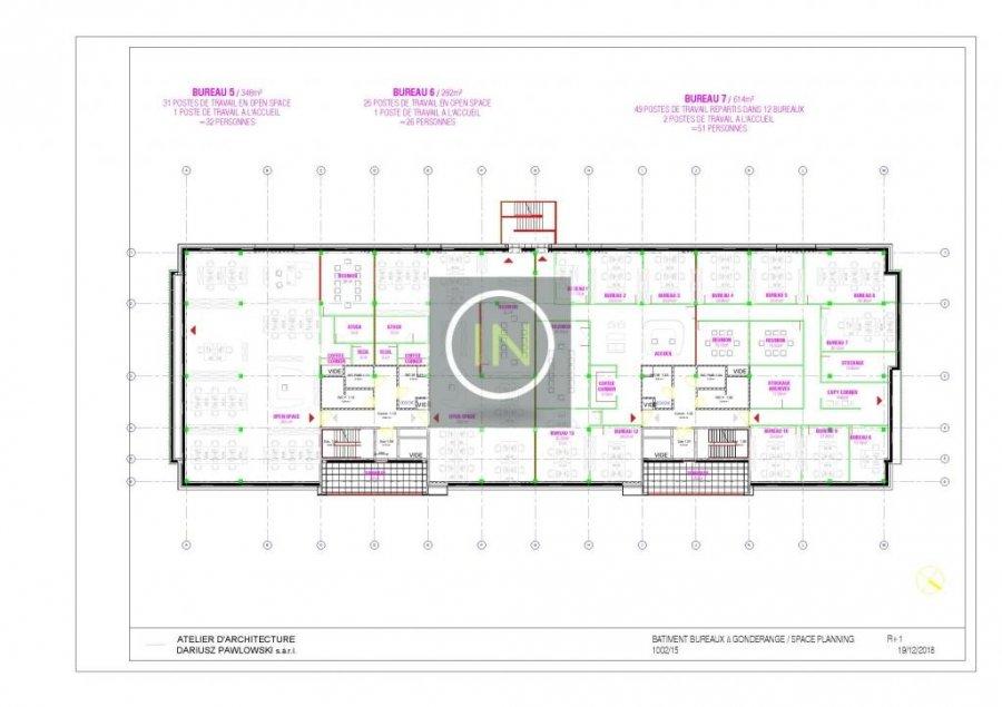 louer bureau 0 chambre 614 m² gonderange photo 6