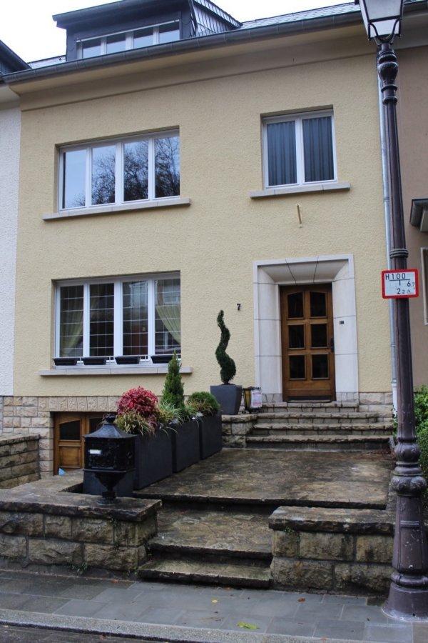 reihenhaus mieten 4 schlafzimmer 160 m² luxembourg foto 1