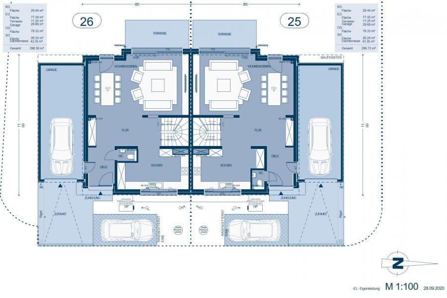 acheter maison jumelée 5 chambres 214.71 m² capellen photo 4