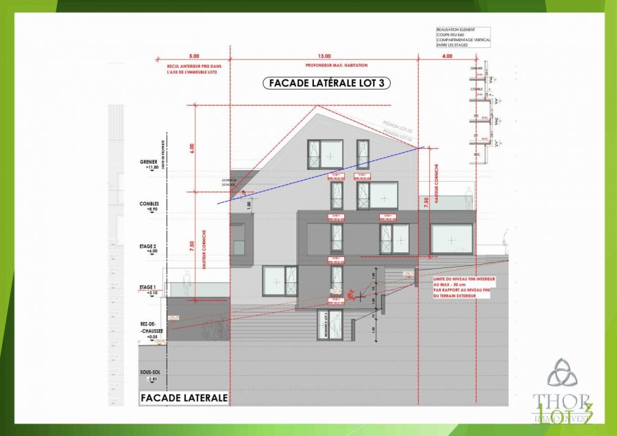 acheter appartement 2 chambres 88.87 m² luxembourg photo 7
