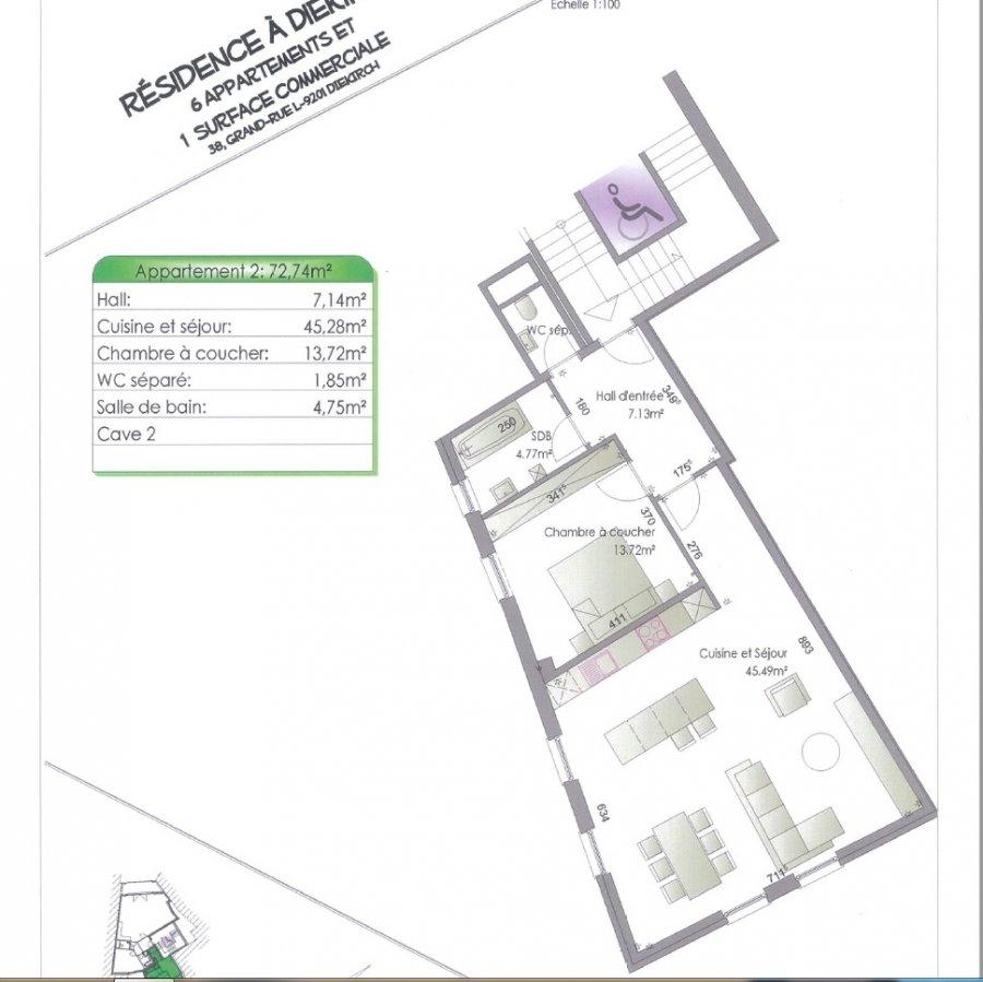 acheter résidence 0 chambre 79.21 à 87.1 m² diekirch photo 7