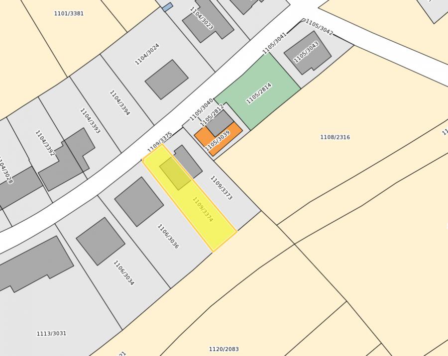Terrain constructible à vendre à Meispelt