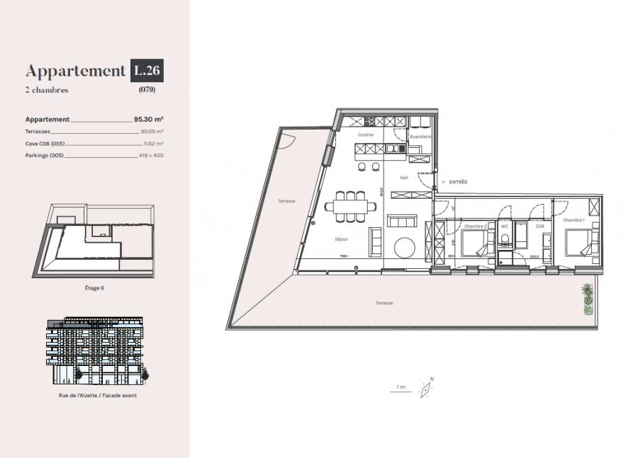 penthouse for buy 2 bedrooms 95.3 m² esch-sur-alzette photo 2
