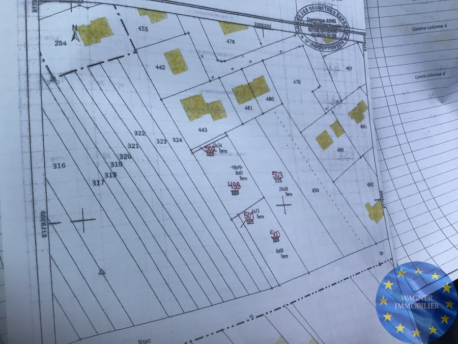 acheter terrain constructible 0 pièce 1034 m² hommarting photo 2