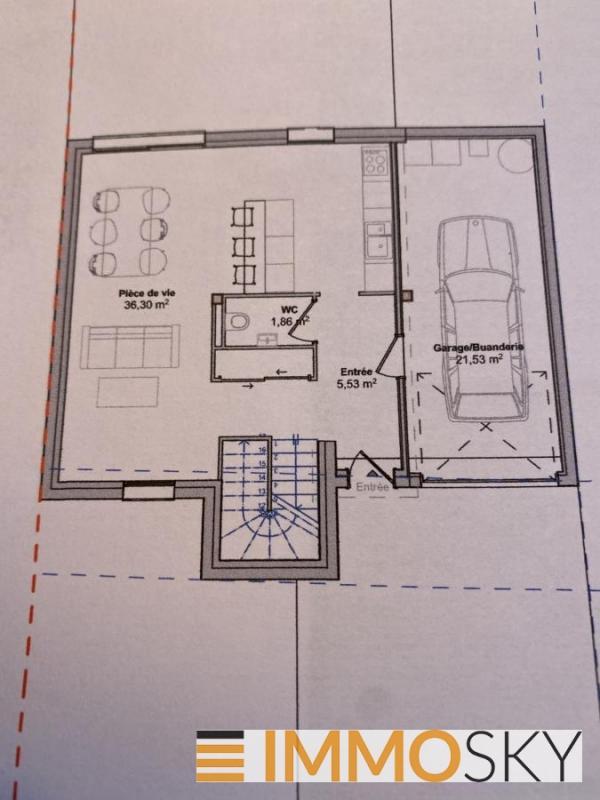 Maison à vendre F5 à Lorry mardigny