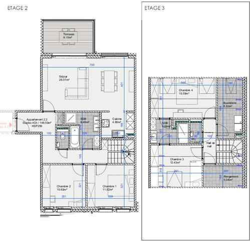 acheter duplex 4 pièces 146 m² arlon photo 2