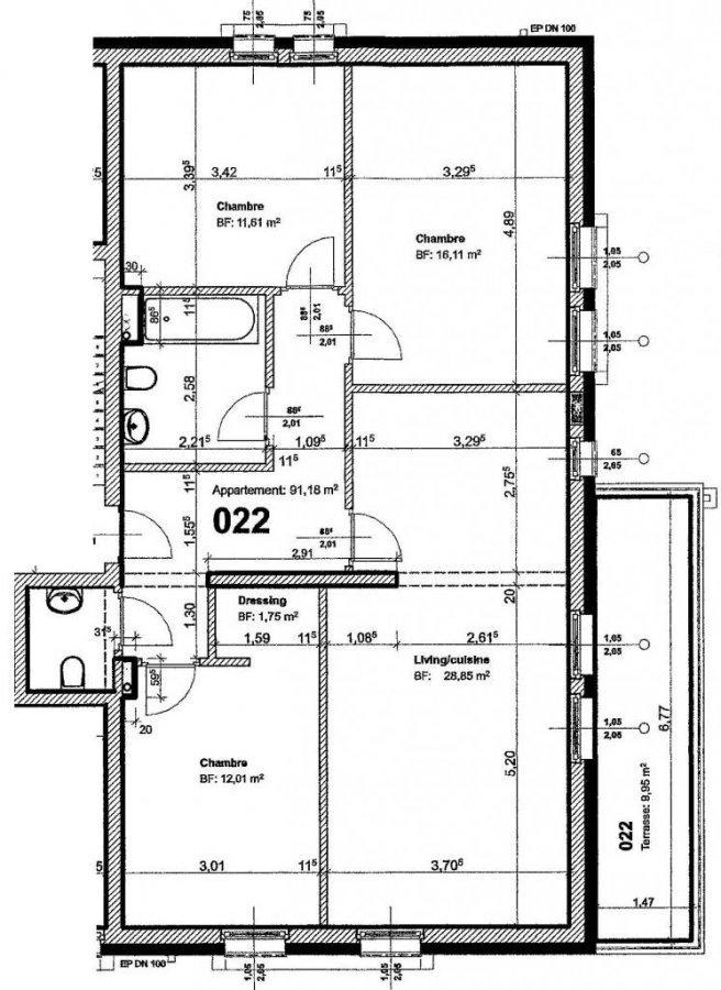 acheter appartement 3 chambres 91 m² nocher photo 2