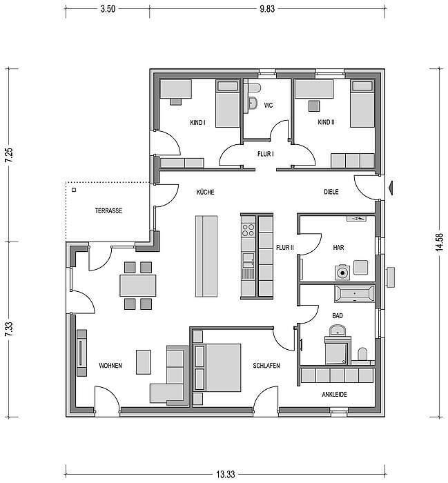 bungalow kaufen 4 zimmer 142.5 m² kyllburg foto 4