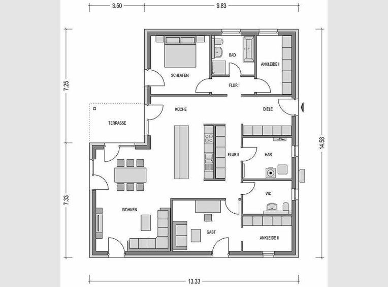 Bungalow zum Kauf 4 Zimmer in Kyllburg (DE) - Ref. 6593587