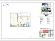 Appartement à vendre F3 à Aumetz - Réf. 7209027
