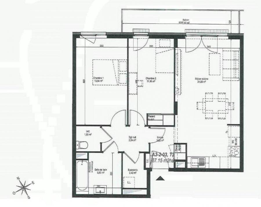 louer appartement 3 pièces 65 m² strasbourg photo 2