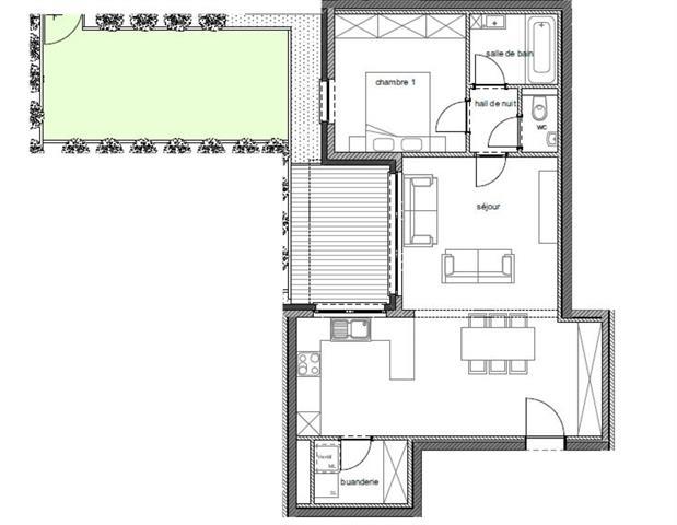 wohnung kaufen 1 zimmer 71.2 m² arlon foto 2