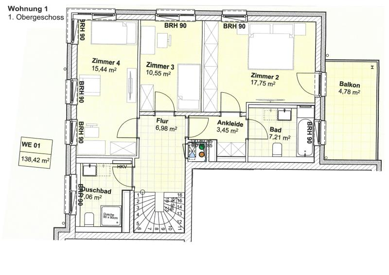 maisonette kaufen 4 zimmer 140.13 m² trier foto 5