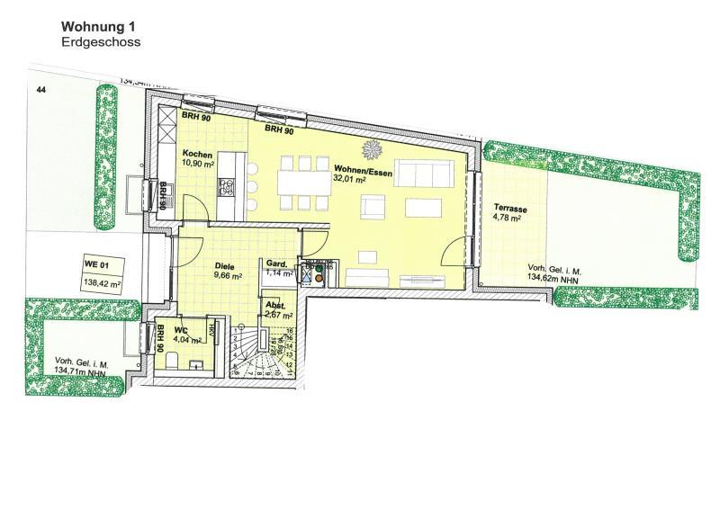 maisonette kaufen 4 zimmer 140.13 m² trier foto 4