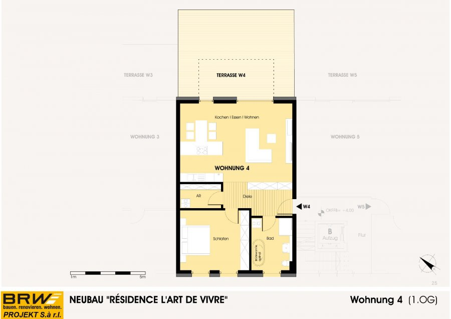 acheter appartement 1 chambre 99.1 m² echternach photo 2