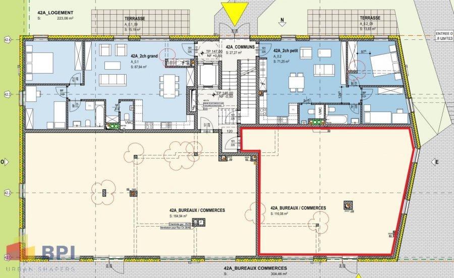 acheter local commercial 0 chambre 116.08 m² mertert photo 4