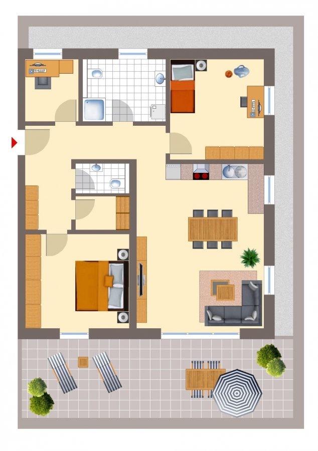 penthouse-wohnung mieten 4 zimmer 102 m² echternacherbrück foto 3
