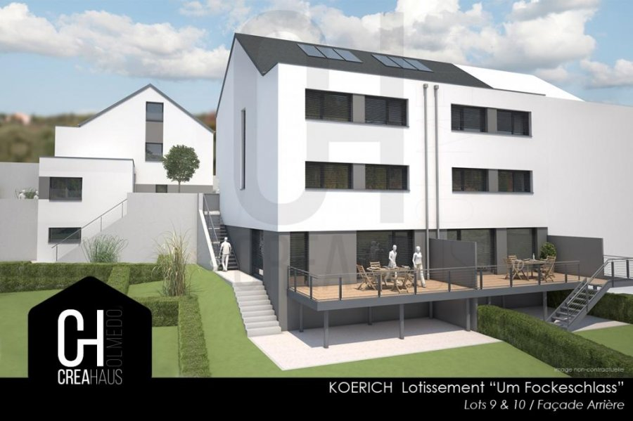 acheter maison individuelle 3 chambres 126 m² koerich photo 1