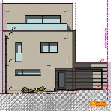 Maison jumelée à vendre 4 chambres à Strassen