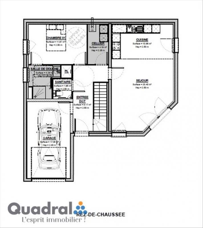 Maison individuelle en vente amanvillers 114 m 269 for Application rt 2012 maison individuelle